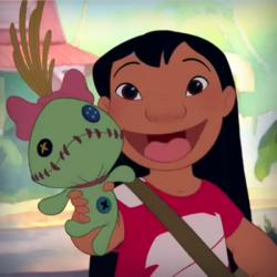 Лило и ее кукла Чуча